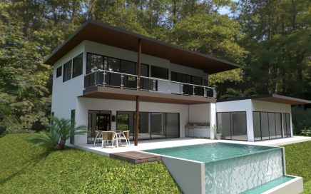 1.5 ACRES – 3 Bedroom Modern Luxury Sunset Ocean View Home With Infinity Pool!!!!!