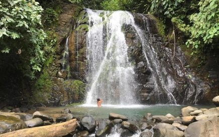0.31 ACRES – Successful Riverfront Hostel, Walk To Waterfall!!!!