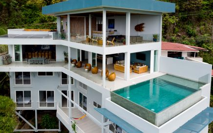 0.4 ACRES – 9 Bedroom Brand New Modern Ocean View Home With Infinity Pool!!!!