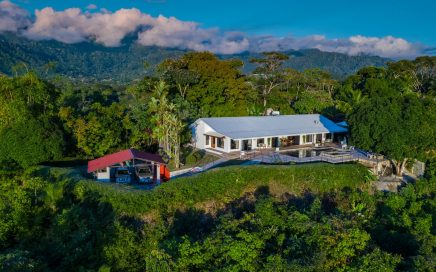 6.9 ACRES – 5 Bedroom Ocean View Home With Spectacular Pool Plus 2 Bedroom Guest Home!!!!