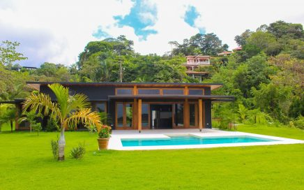 0.54 ACRES – 3 Bedroom Brand New Modern Tropical Home With Pool And Sunset Ocean View!!!
