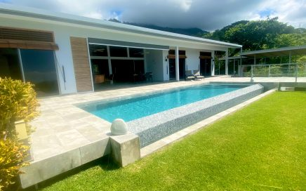 3.8 ACRES – 4 Bedroom Modern Home With Infinity Pool And Sunset Ocean View!!!!
