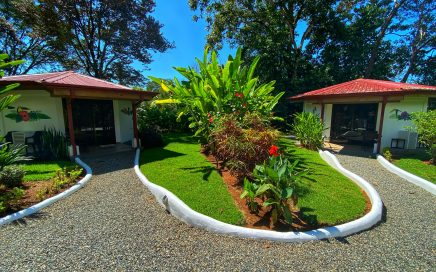 0.6 ACRES – 2 Octagon Shaped 1 Bedroom Villas With Kitchen And Room To Build More!!!!!