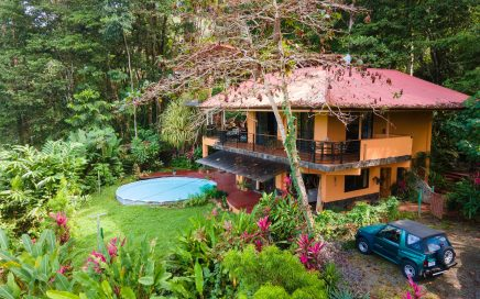 1.25 ACRES – 4 Bedroom Tropical Style Home With Pool And River Access!!!!