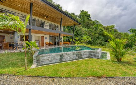 1.76 ACRES – 4 Bedroom Brand New Modern Home, Pool, Sunset Ocean Views, Gated Community!!!!