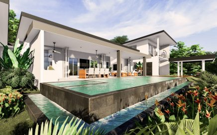 3 ACRES – 4 Bedroom Modern Luxury Ocean View Home With Pool And Second Building Site!!!