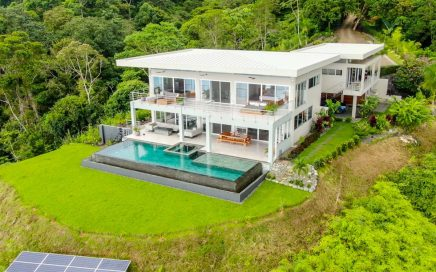 8.1 ACRES – 3 Bedroom Modern Masterpiece With Amazing Pool And Huge Whales Tale Ocean Views!!!!!