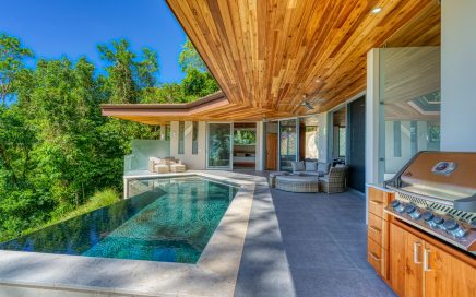 2 ACRES – 3 Bedroom Brand New Stunning Ocean View Home With Infinity Pool!!!!!