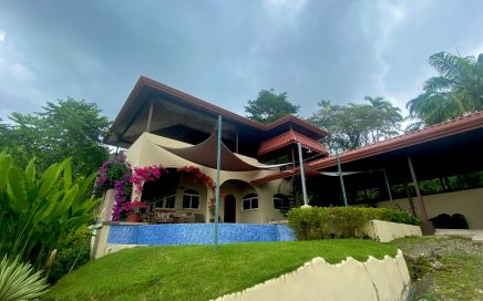 5.75 ACRES – 3 Bedroom Ocean View Home With Pool On Very Private Property!!!