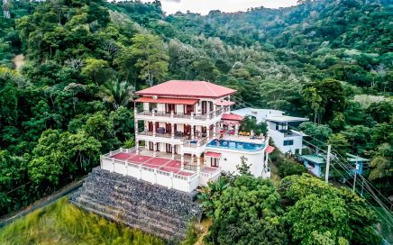 0.61 ACRES – 12 Bedroom Ocean View Luxury Estate With Main House And Guest House And Pool!!!!