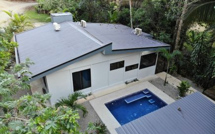 0.29 ACRES – 3 Bedroom Brand New Home With Pool In Fabulous Rainforest Settling, Walk To The Beach!!!!