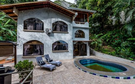 0.27 ACRES – 4 Bedroom Ocean View Home With Pool Surrounded By Lush Rainforest!!!!
