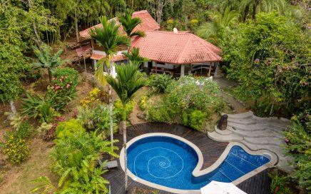 5.65 ACRES – 3 Bedroom Ocean View Home With Pool Plus 2 Rental Cabinas!!!!