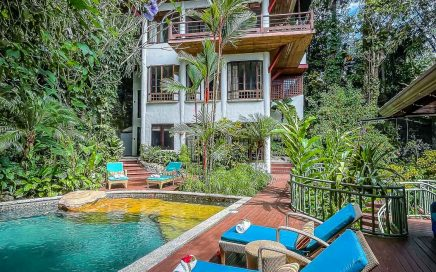 0.35 ACRES – 6 Bedroom Home With Pool And Iconic Manuel Antonio Park Ocean View!!!!!