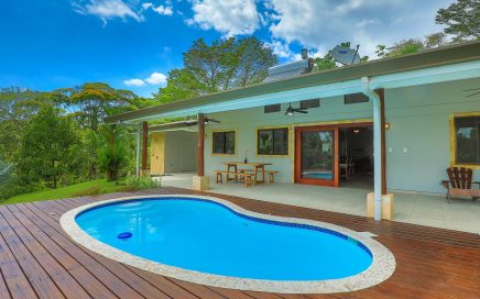 3.14 ACRES – 2 Bedroom Home With Pool And Partial Ocean View!!!!
