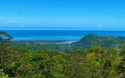 3.5 ACRES – Amazing Ocean View Lot Surrounded By Primary Rainforest In Gated Community With Legal Water!!!!