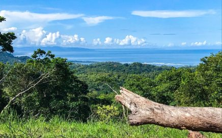 2.2 ACRES – Beautiful Ocean View Lot In The Hills Of Ojochal At A Great Price!!!