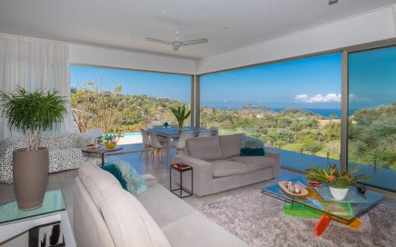 0.2 ACRES – 6 Bedroom 4 Level Modern Ocean View Villa With 2 Pools!!!!