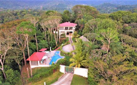 1.72 ACRES – 4 Bedroom Sunset Ocean View Plus Great Mountain View And Pool!!!!