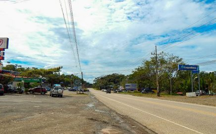 2.27 ACRES – Commercial or Residential Property Just Off Highway With River Frontage And Ocean View!!!!!