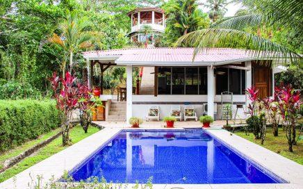 4.5 ACRES – 2 Bedroom Home Plus 1 Bedroom Guest Home, Pool, Creek, Ocean View!!!!