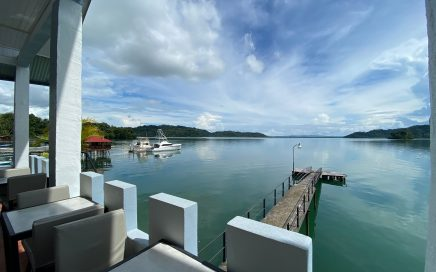 0.12 ACRES – 13 Room Waterfront Hotel With Private Dock On Titled Land!!!!