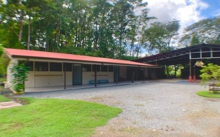 1.63 ACRES – Commercial Property With Paved Highway Frontage And Existing Buildings!!
