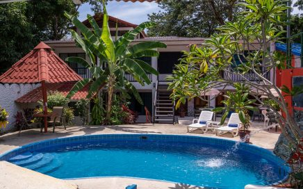 0.6 ACRES – 21 Room Hotel With Restaurant, Bar, Pool, Plus 3 Bedroom Villa, Great Location And Profitable!!!!