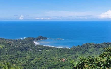6.17 ACRES – Breathtaking Ocean View Lot With Sunsets And Views Of Punta Dominical!!!!