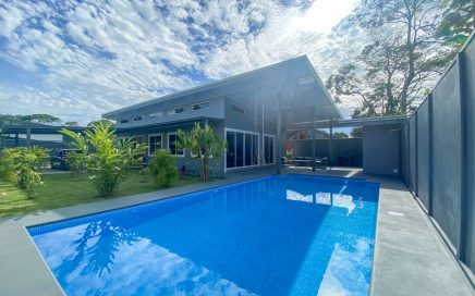 0.12 ACRES – 3 Bedroom Brand New Fully Furnished Home With Pool, Walk To The Beach!!!