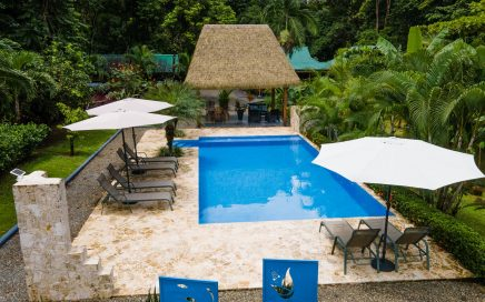 1.3 ACRES – Eco Lodge With 3 Cabins, Large Pool, Plus Owner's Home!!!