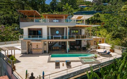 0.16 ACRES – 4 Bedroom Modern Ocean View Home With Rooftop Bar And Jacuzzi!!!!!