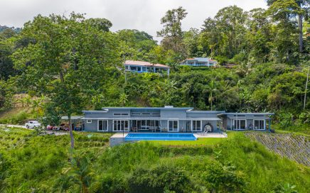 1.2 ACRES – 5 Bedroom Modern Brand New Luxury Home With Whales Tail Ocean Views!!!!!