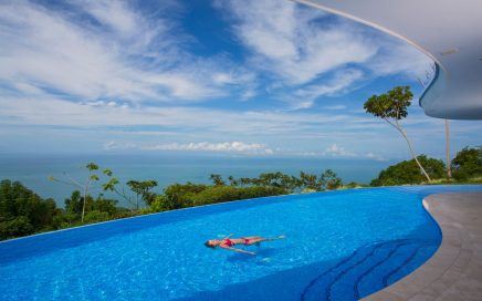 3.21 ACRES – 5 Bedroom Luxury Modern Estate With Amazing Ocean Views Located In Costa Verde Estates!!!