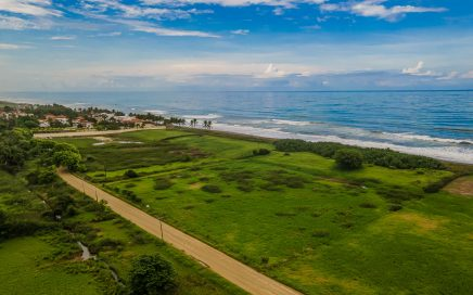 2.74 ACRES – TITLED Beachfront Property In Playa Hermosa Just South Of Jaco On Beautiful Surf Beach!!!!!