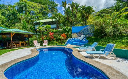 1.24 ACRES – Turn Key Retreat Center With 3 Rental Bungalows, 2 Bedroom Owner's Home, Pool, Great Location!!!!