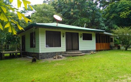 1.27 ACRES – 2 Bedroom Home With Creek, Room To Build More, Easy Beach Access!!!!
