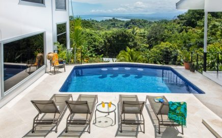 0.3 ACRES – 4 Bedroom Modern Luxury Home With Pool And Whit Water Ocean Views!!!!