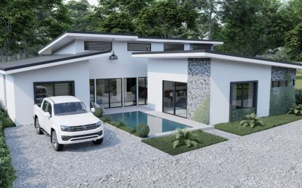 0.08 ACRES – 3 Bedroom Home With Pool Walking Distance To The Beach, Currently Under Construction!!!!